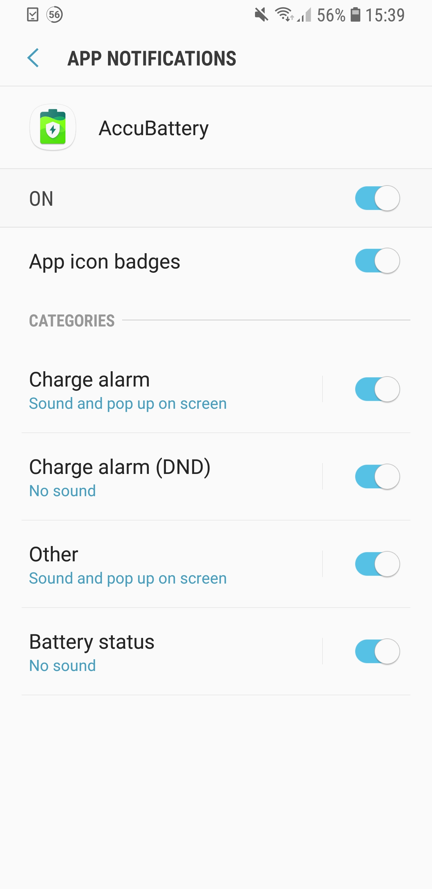 Changes to notifications and alarms in Oreo (priority